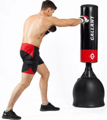 standing heavy bags